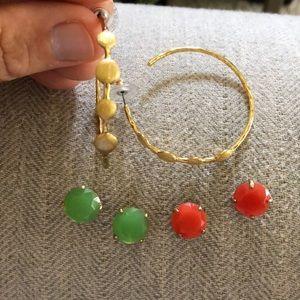Bundle of 3 Stella & Dot Earrings